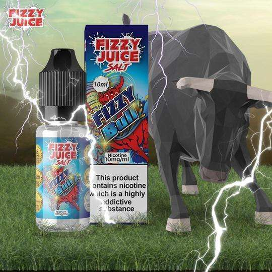 Fizzy Bull By Fizzy Nic Salt 10ml for your vape at Red Hot Vaping