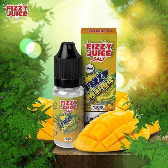 Fizzy Mango By Fizzy Nic Salt 10ml for your vape at Red Hot Vaping