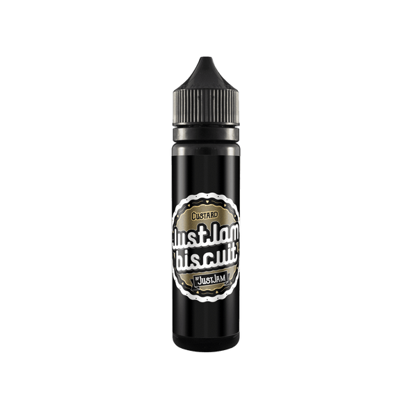 Custard Just Jam Biscuit 50ml a  for your vape by  at Red Hot Vaping