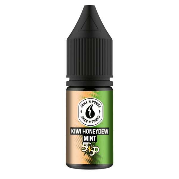 Kiwi Honeydew Mint By Juice & Power 10ml 50/50 for your vape at Red Hot Vaping