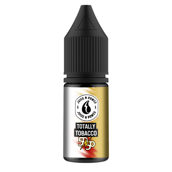Totally Tobacco By Juice & Power 10ml 50/50 for your vape at Red Hot Vaping