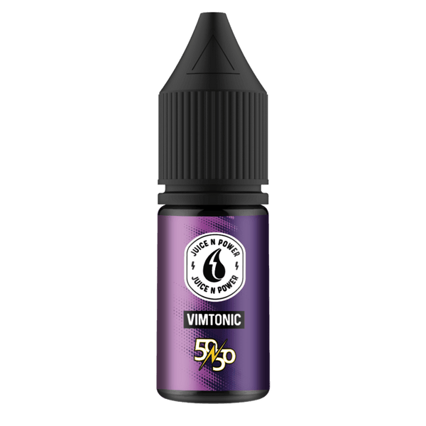 Vimtonic By Juice & Power 10ml 50/50 for your vape at Red Hot Vaping