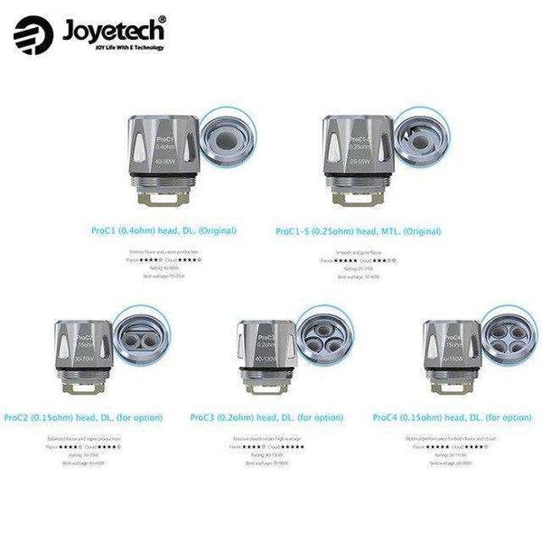 Joyetech Pro C Coils a  for your vape by  at Red Hot Vaping