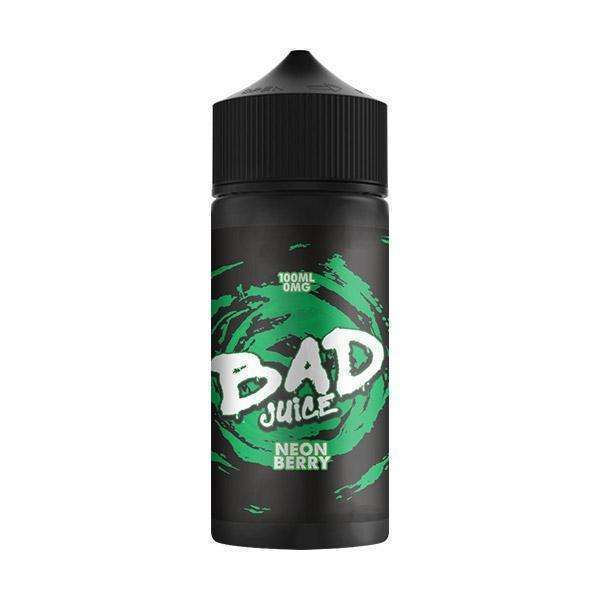 Neon Berry By Bad Juice 100ml for your vape at Red Hot Vaping