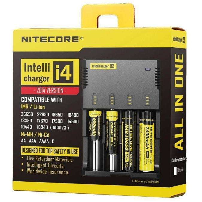 Nitecore I4 Charger a  for your vape by  at Red Hot Vaping