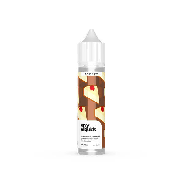 Fruit Cheesecake By Only Eliquids 50ml Shortfill for your vape at Red Hot Vaping