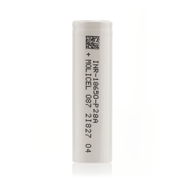 Molicel P28A 18650 Battery for your vape at Red Hot Vaping
