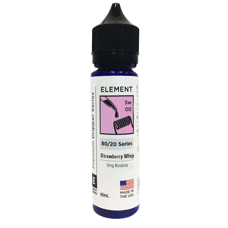 Strawberry Whip Element 50ml a  for your vape by  at Red Hot Vaping