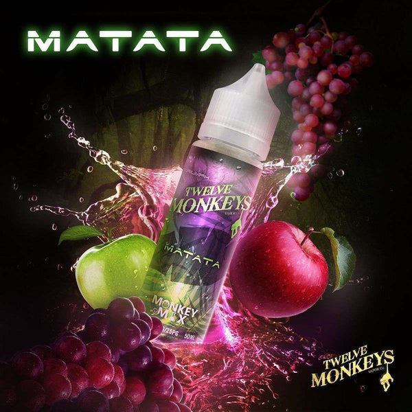 Matata Twelve Monkeys 50ml a  for your vape by  at Red Hot Vaping