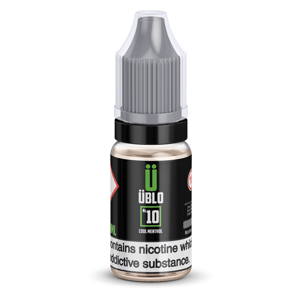 Ublo Number 10 (Equivalent of Menthol Vjuice) 10ml 50/50 By Ublo for your vape at Red Hot Vaping