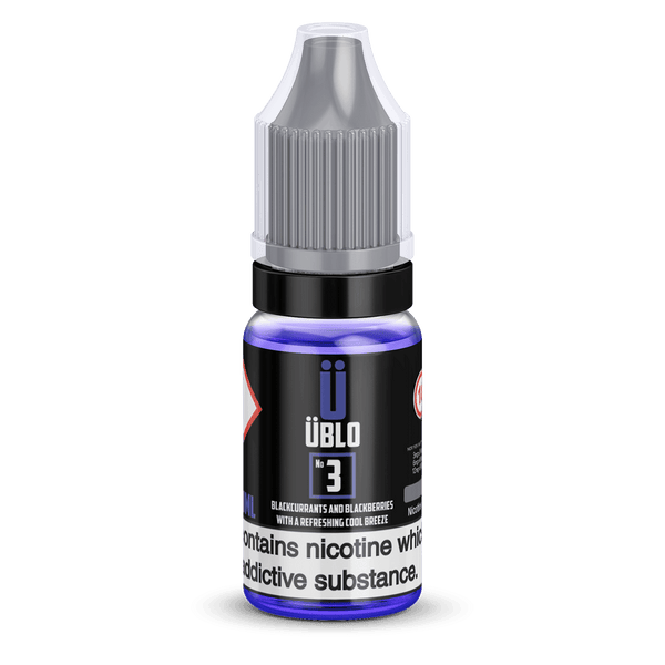 Ublo Number 3 (Equivalent of Purple Rain Vjuice) 10ml 50/50 By Ublo for your vape at Red Hot Vaping