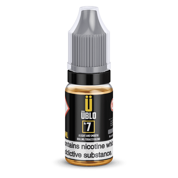 Ublo Number 7 (Equivalent of Tobacco Vjuice) 10ml 50/50 By Ublo for your vape at Red Hot Vaping