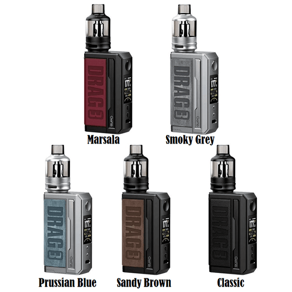 Drag 3 Kit By VooPoo for your vape at Red Hot Vaping