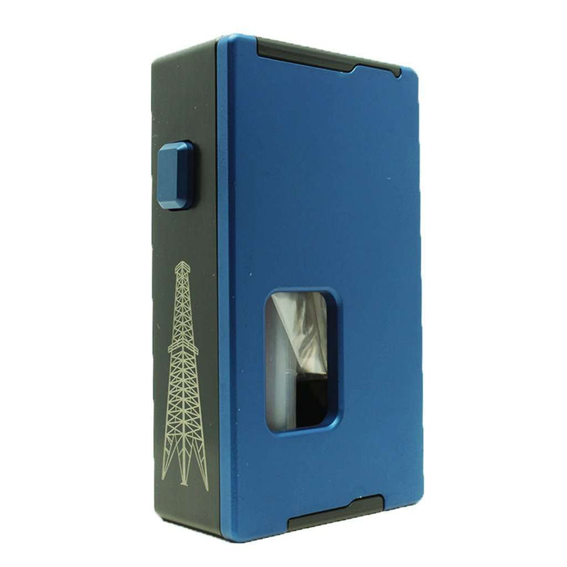 Rig Squonk Box By VapeAMP in Blue, for your vape at Red Hot Vaping