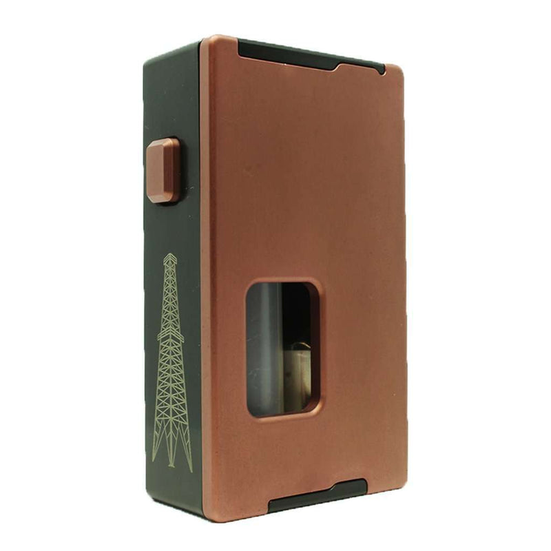 Rig Squonk Box By VapeAMP in Gold, for your vape at Red Hot Vaping