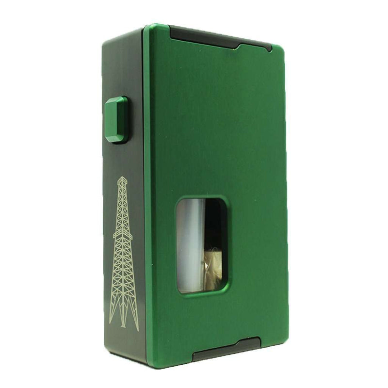 Rig Squonk Box By VapeAMP in Green, for your vape at Red Hot Vaping