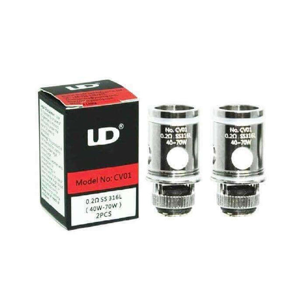 Athlon 22 Mocc Coils By UD for your vape at Red Hot Vaping