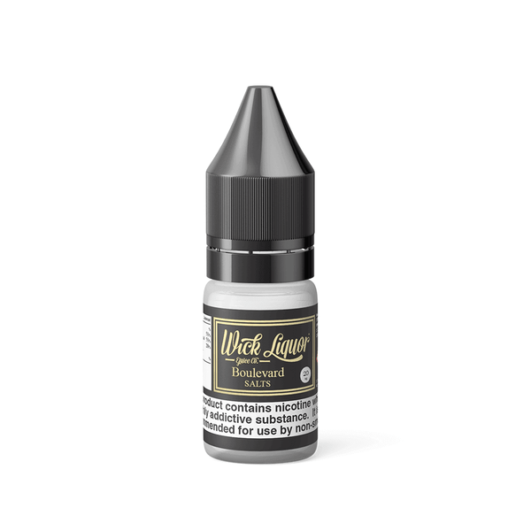Boulevard By Wick Liquor Salts 10ml for your vape at Red Hot Vaping