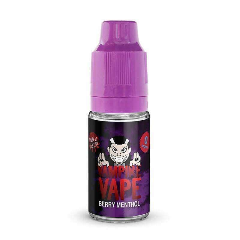Berry Menthol By Vampire Vape 10ml 50/50 for your vape at Red Hot Vaping