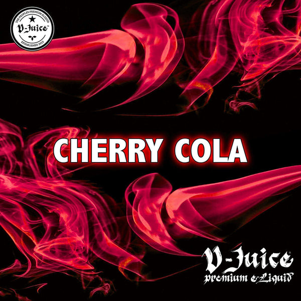 Cherry Cola By Vjuice 10ml 50/50 (d) for your vape at Red Hot Vaping