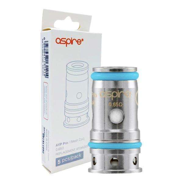 AVP Pro Coils By Aspire in 0.65 / Single, for your vape at Red Hot Vaping