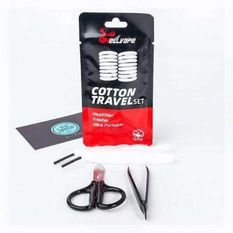Cotton Travel Set a  for your vape by  at Red Hot Vaping