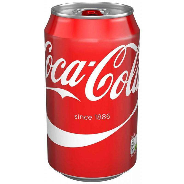 Coca Cola 330ml Can for your vape at Red Hot Vaping