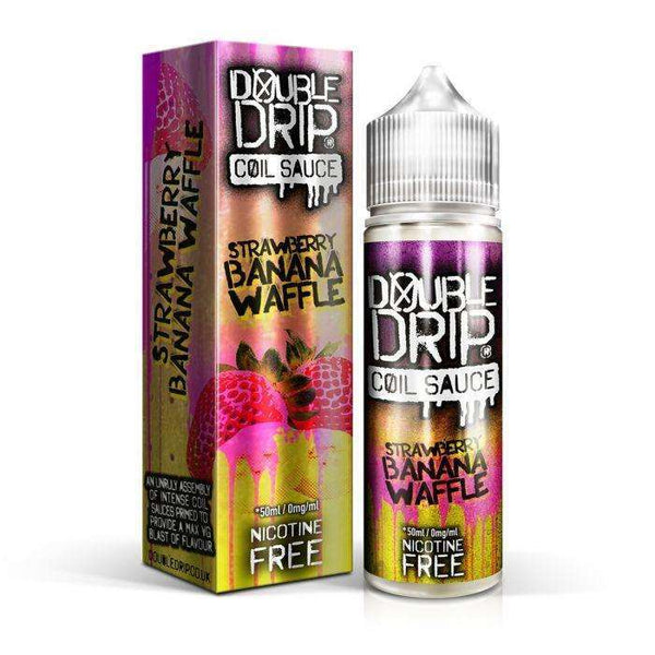 Strawberry Banana Waffle Double Drip 50ml a  for your vape by  at Red Hot Vaping