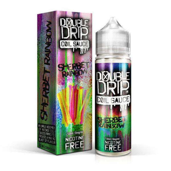 Sherbet Rainbow Double Drip 50ml a  for your vape by  at Red Hot Vaping