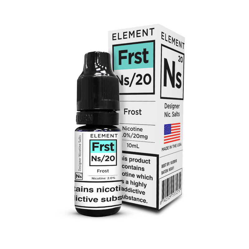 Frost Element Nic Salts 10ml a  for your vape by  at Red Hot Vaping