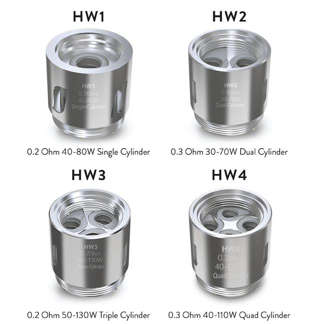 Eleaf HW Coils a  for your vape by  at Red Hot Vaping