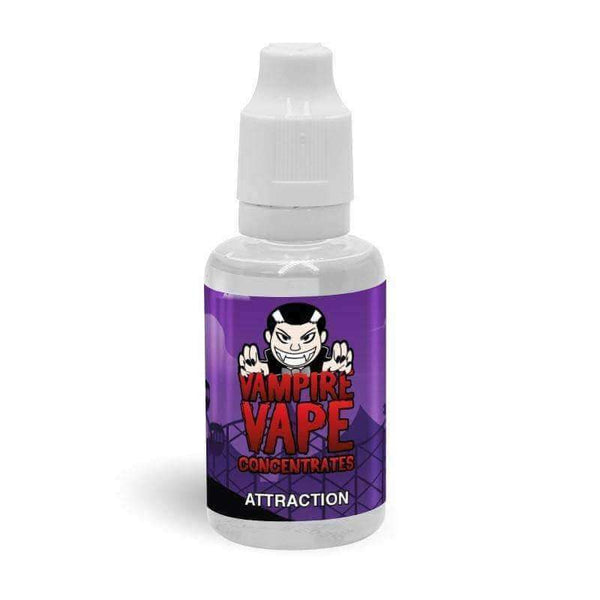 Attraction Concentrate By Vampire Vape 30ml for your vape at Red Hot Vaping