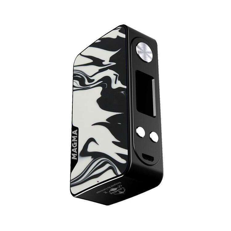 Magma Box Mod by Famovape in Black Frame Shadow, for your vape at Red Hot Vaping