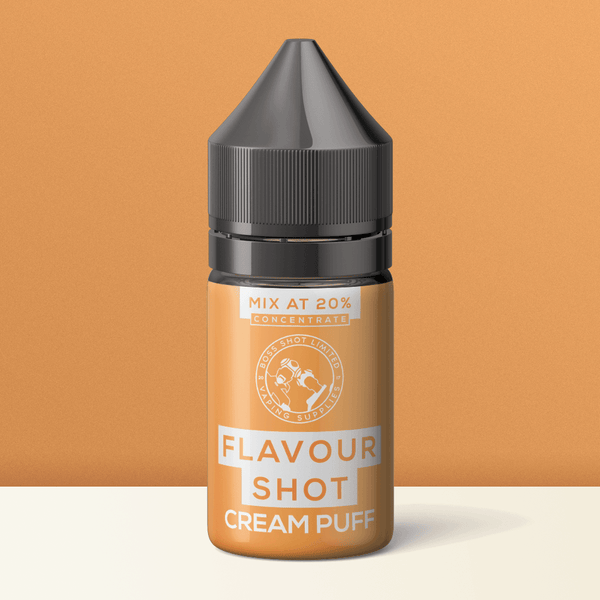 Cream Puff Flavour Boss Concentrate a  for your vape by  at Red Hot Vaping