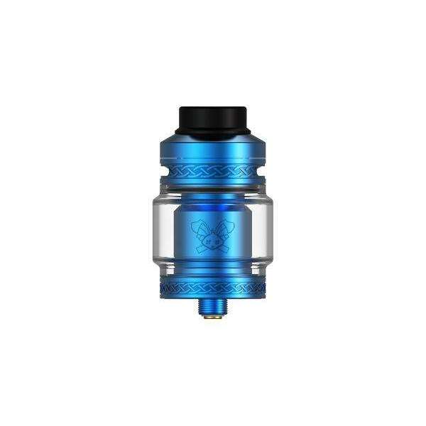 Dead Rabbit V2 RTA By Hellvape in Blue, for your vape at Red Hot Vaping