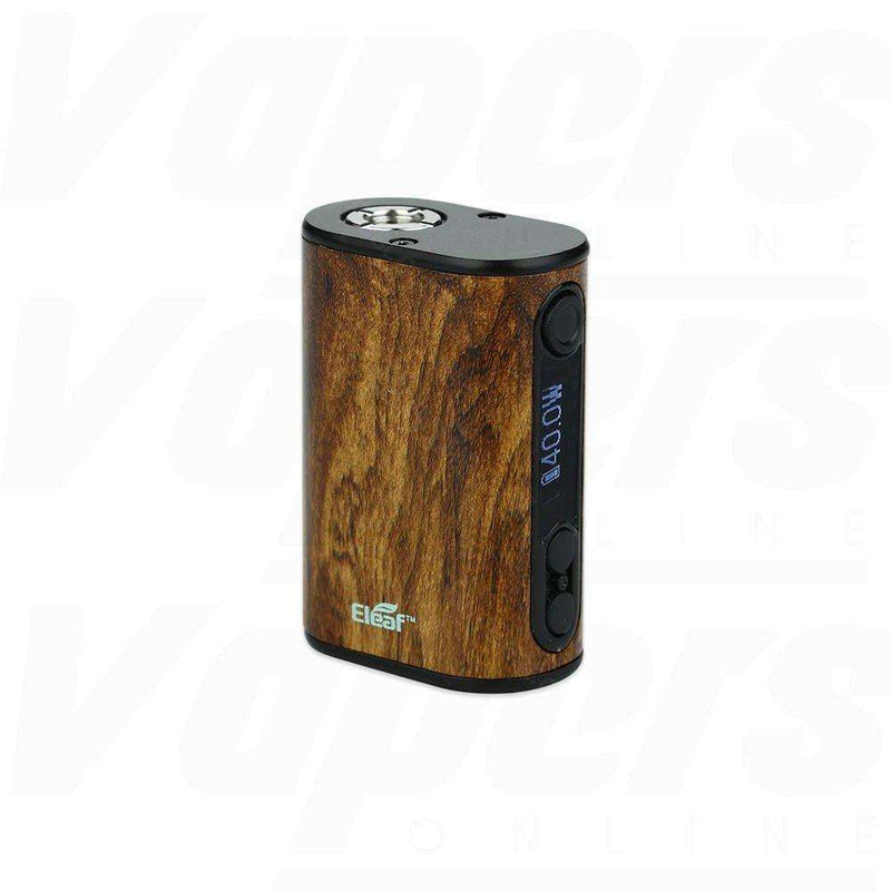 Ipower Nano Mod By Eleaf in Wood Grain, for your vape at Red Hot Vaping