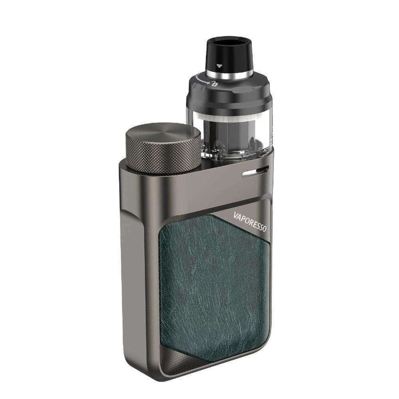 Swag PX80 Kit By Vaporesso in Gunmetal Grey, for your vape at Red Hot Vaping