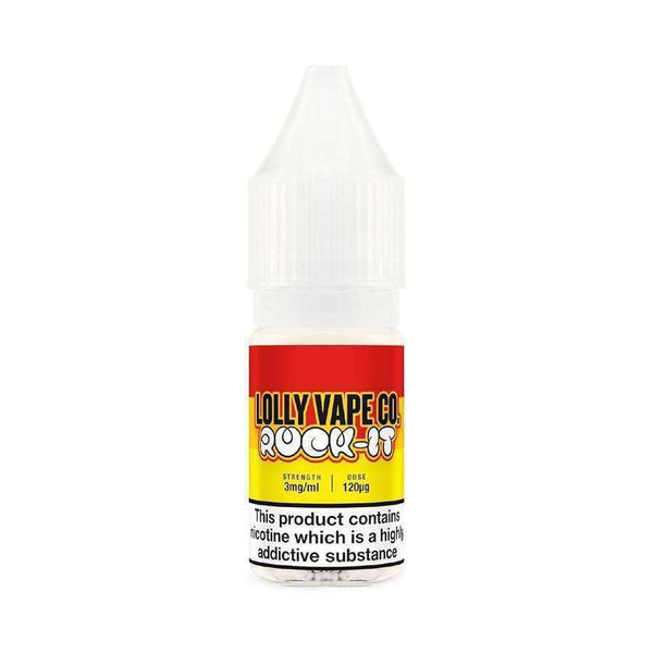 Rock It Lolly Vape 10ml 50/50 a  for your vape by  at Red Hot Vaping