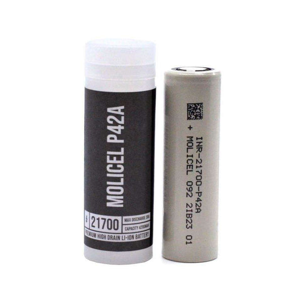 P42A 21700 Battery By Molicell for your vape at Red Hot Vaping