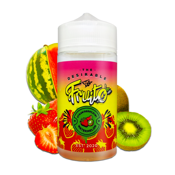 Strawberry Kiwi Watermelon By Fruito 150ml for your vape at Red Hot Vaping