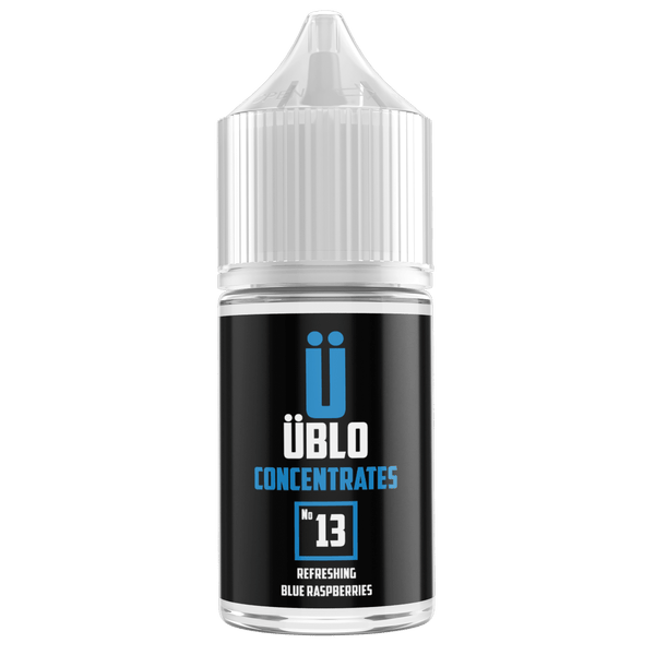 Ublo Concentrate Number 13 (Equivalent of Blue Raspberry Vjuice) for your vape at Red Hot Vaping