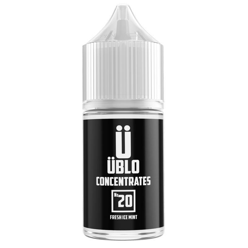 Ublo Concentrate Number 20 (Equivalent of Deep Freeze Vjuice) for your vape at Red Hot Vaping
