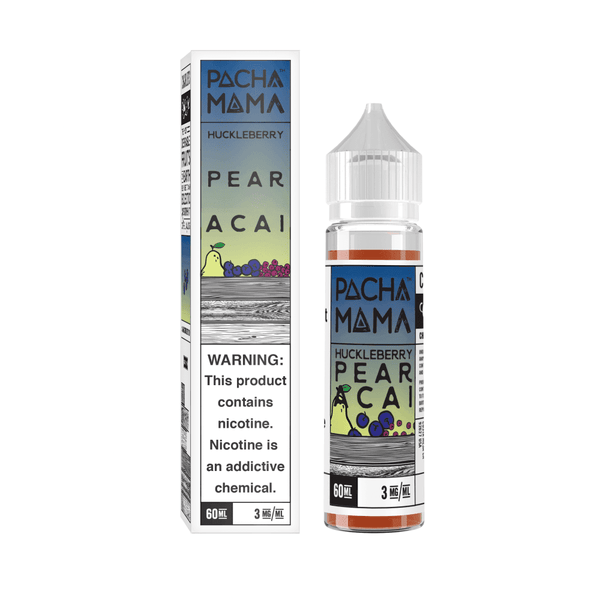 Huckleberry Pear Acai Pachamama 50ml a  for your vape by  at Red Hot Vaping