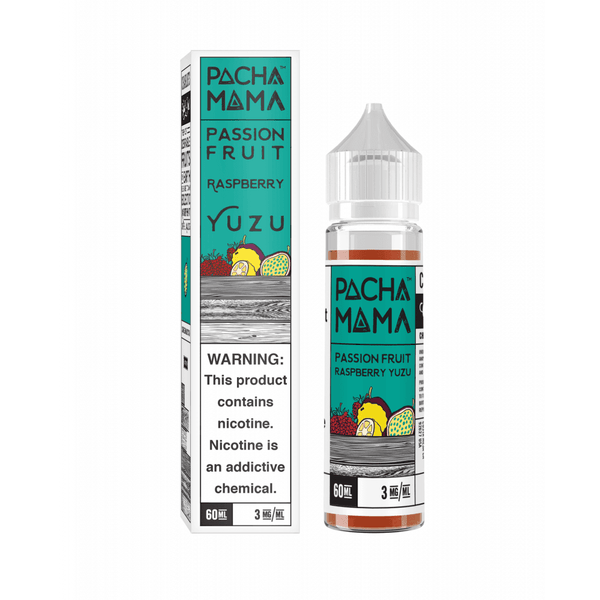 Passionfruit Raspberry Yuzu Pachamama 50ml a  for your vape by  at Red Hot Vaping