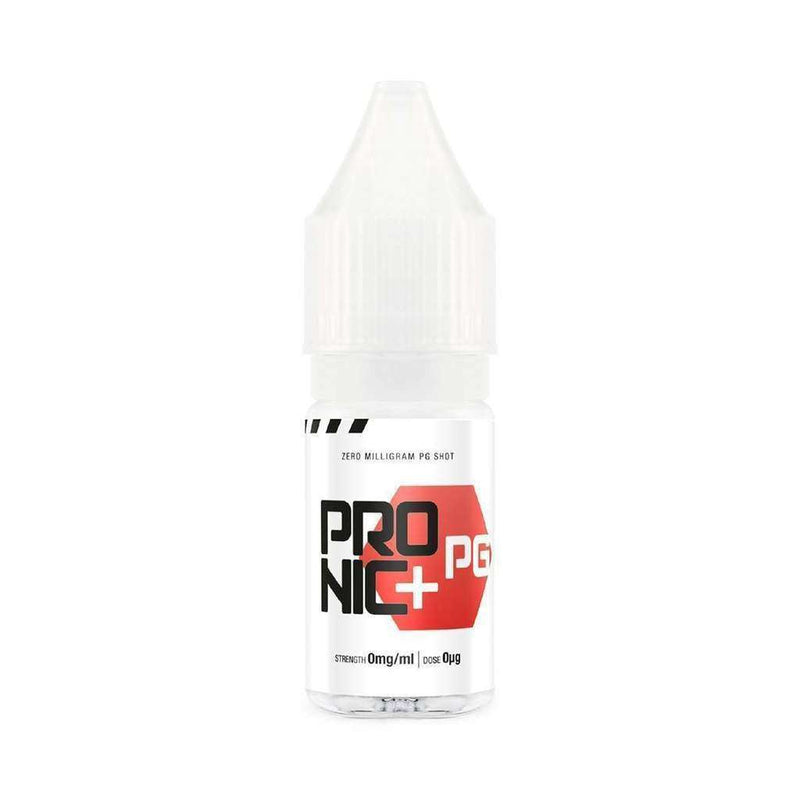 Pro Nic + Nicotine Shot 0MG PG for your vape at Red Hot Vaping