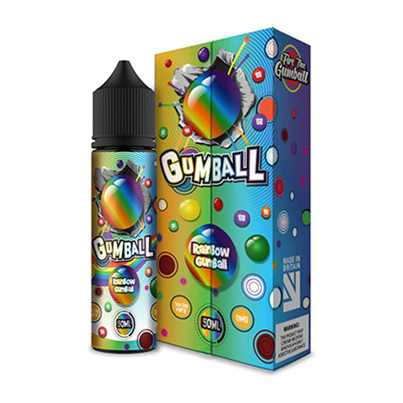 Rainbow Gumball 50ml a  for your vape by  at Red Hot Vaping