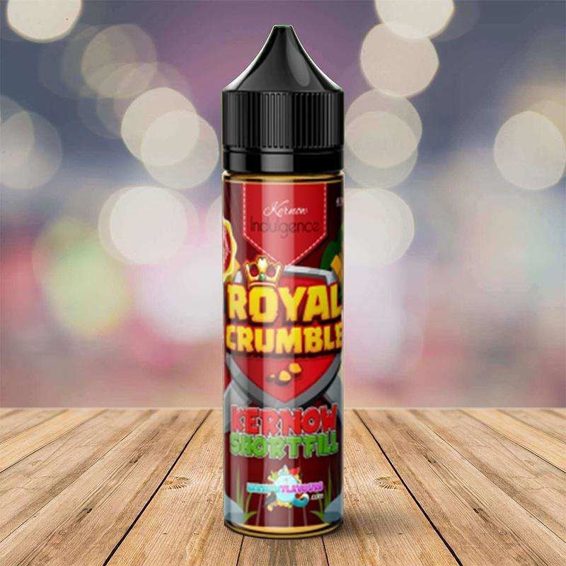 Royal Crumble By Kernow 50ml Shortfill for your vape at Red Hot Vaping