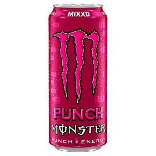 Monster Mixxd Punch Energy 500ml for your vape at Red Hot Vaping