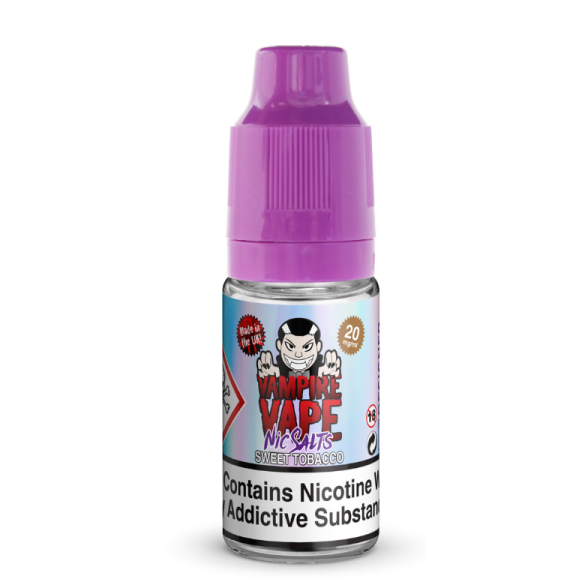 Sweet Tobacco Vampire 10ml Nicotine Salt a  for your vape by  at Red Hot Vaping