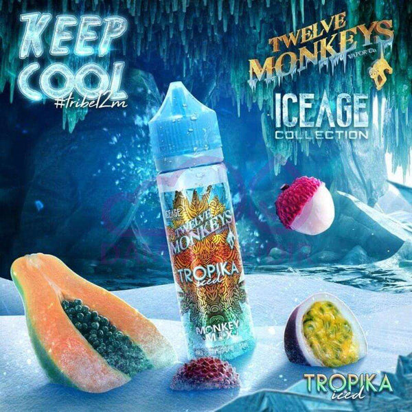 Tropika Ice Twelve Monkeys 50ml a  for your vape by  at Red Hot Vaping